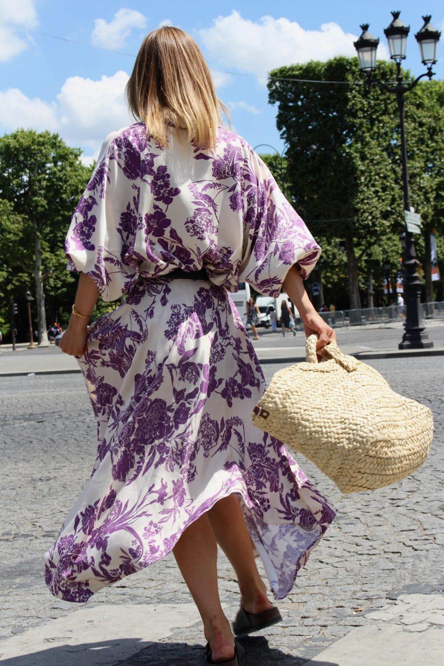 H&M trend skirt floral print