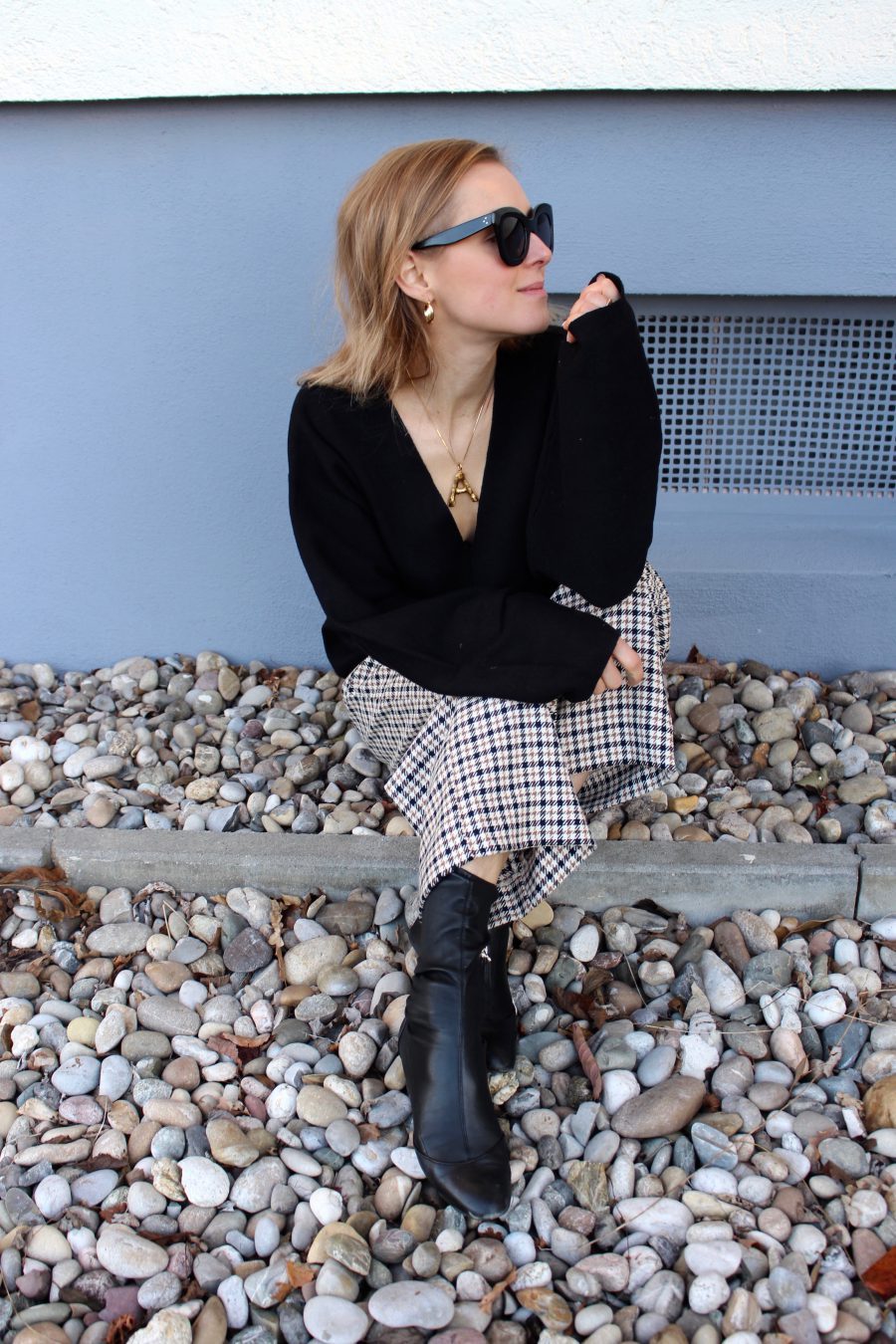 Céline Sunglasses Black Marta