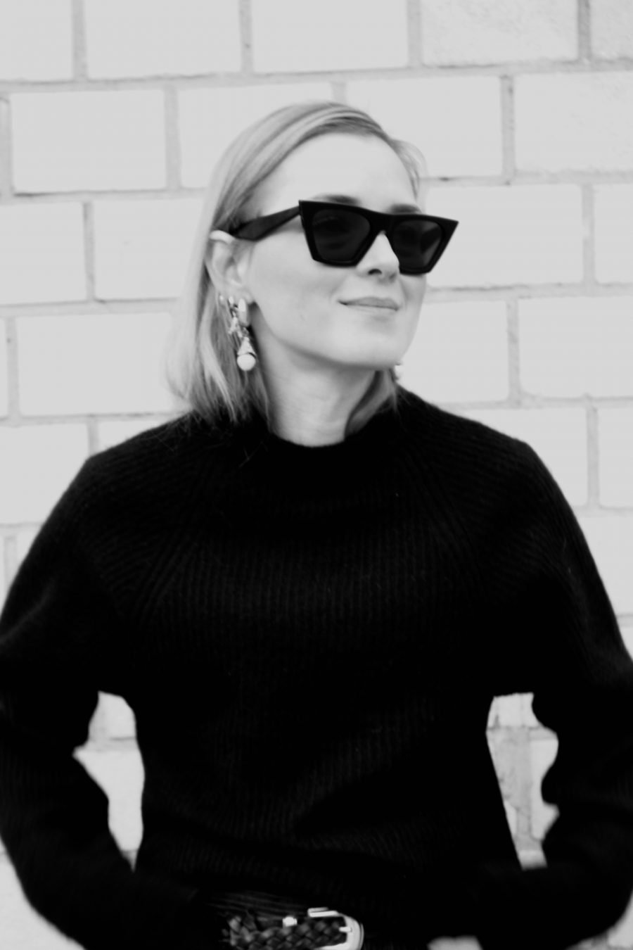 Céline edge sunglasses black