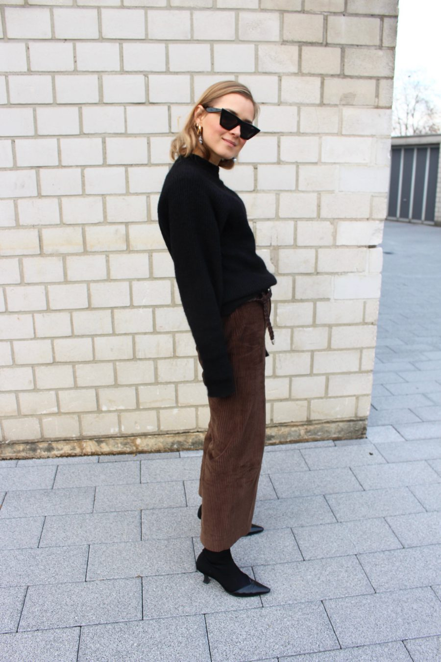 Brown pants zara winter 2018 collection