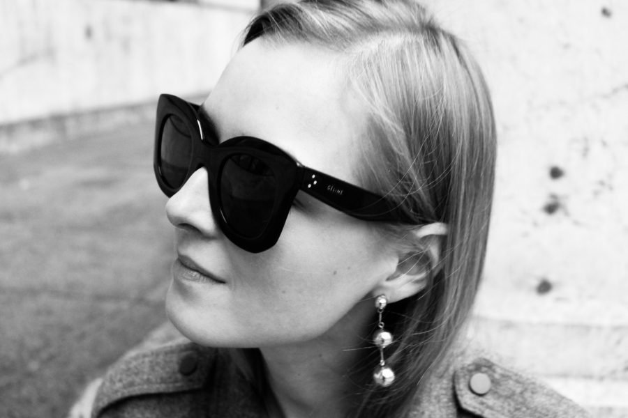 céline marta sunglasses black
