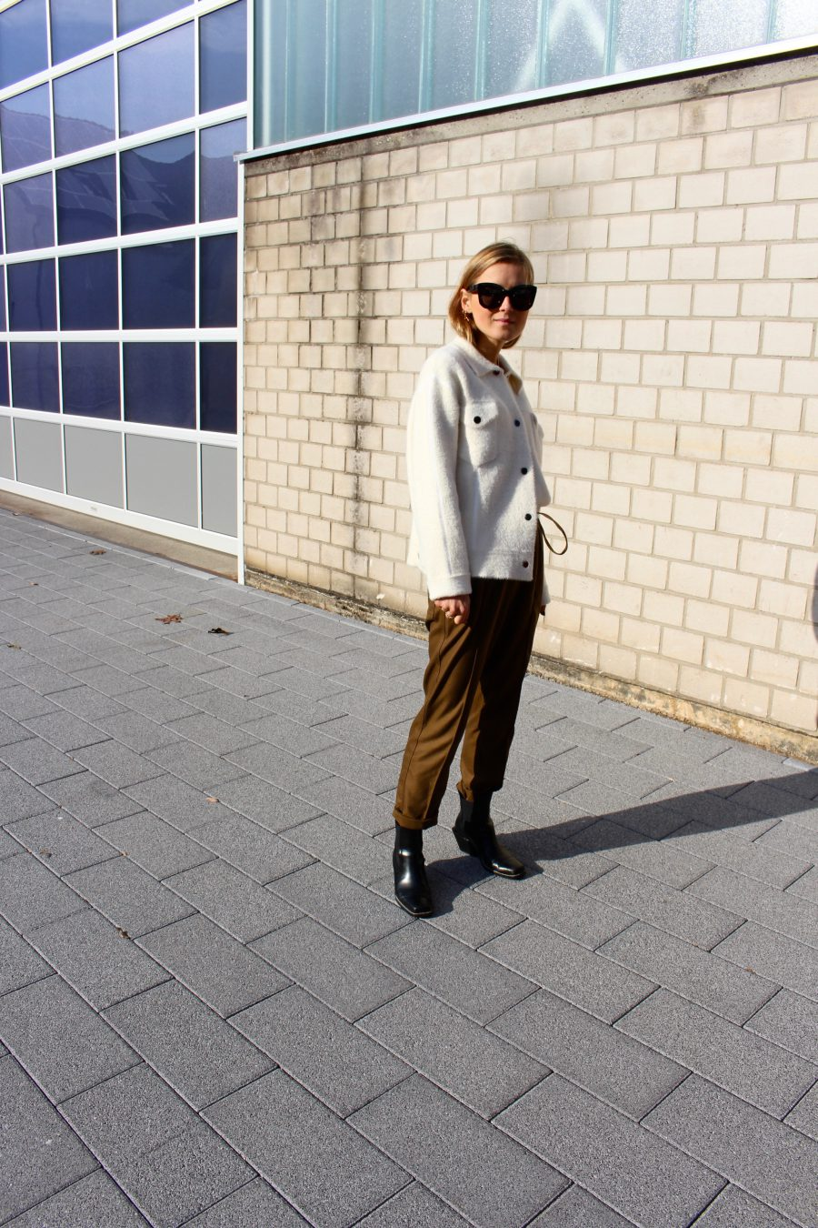 pants khaki jogging look