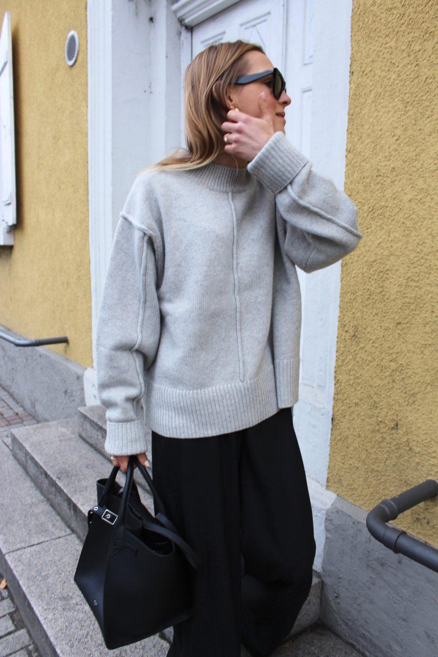 H&M Trend Sweater grey