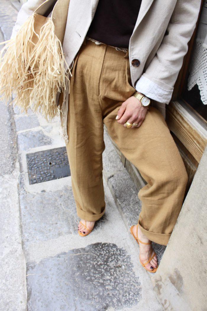 Linen Pants H&M Trend summer 2019