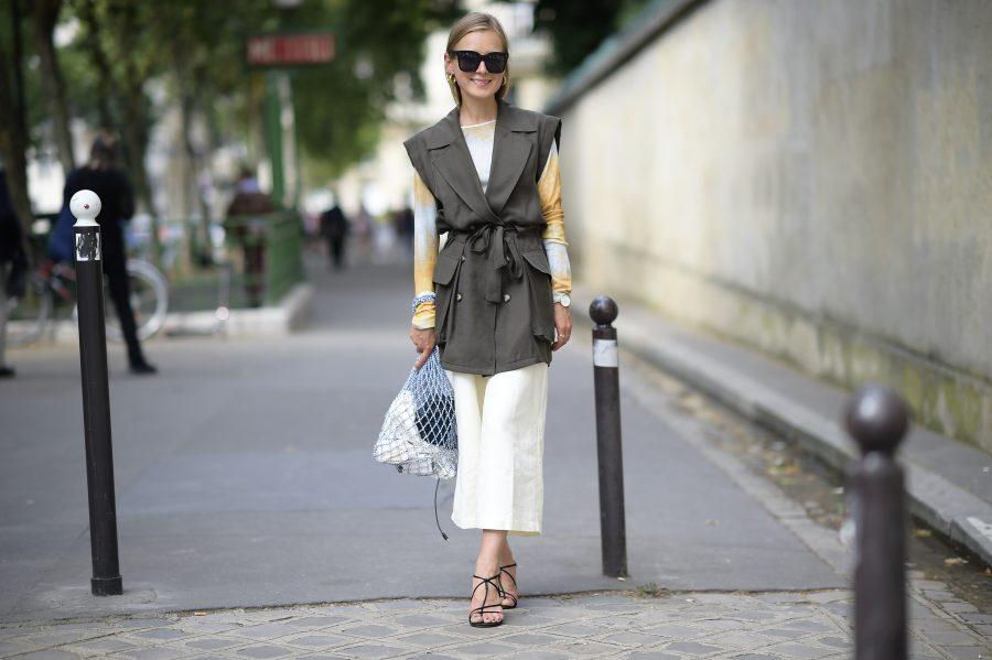 wide pants linen summer trend 2018