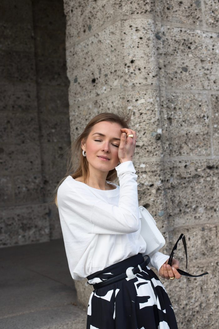 white basic shirt esprit women