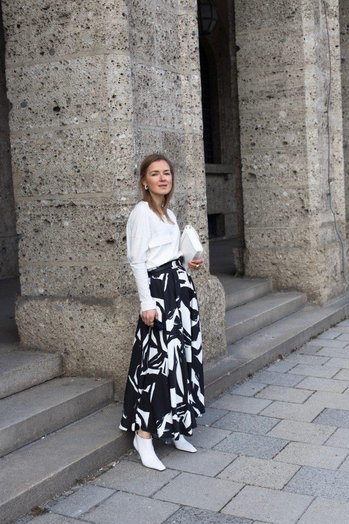 The Flared Skirt H&M women