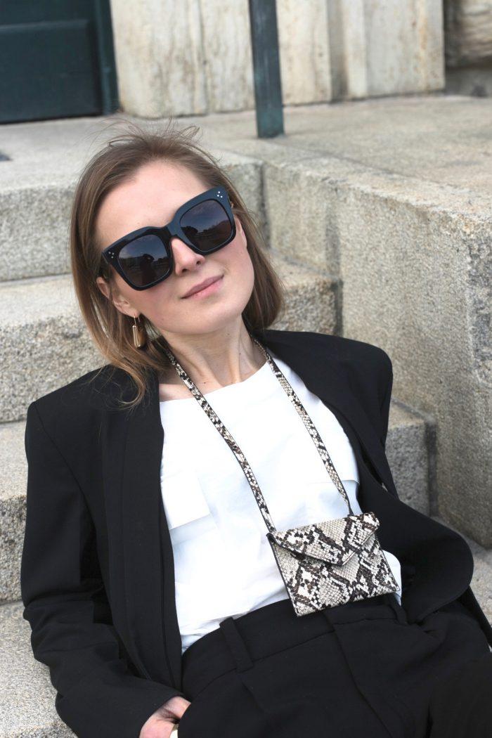 black sunglasses céline