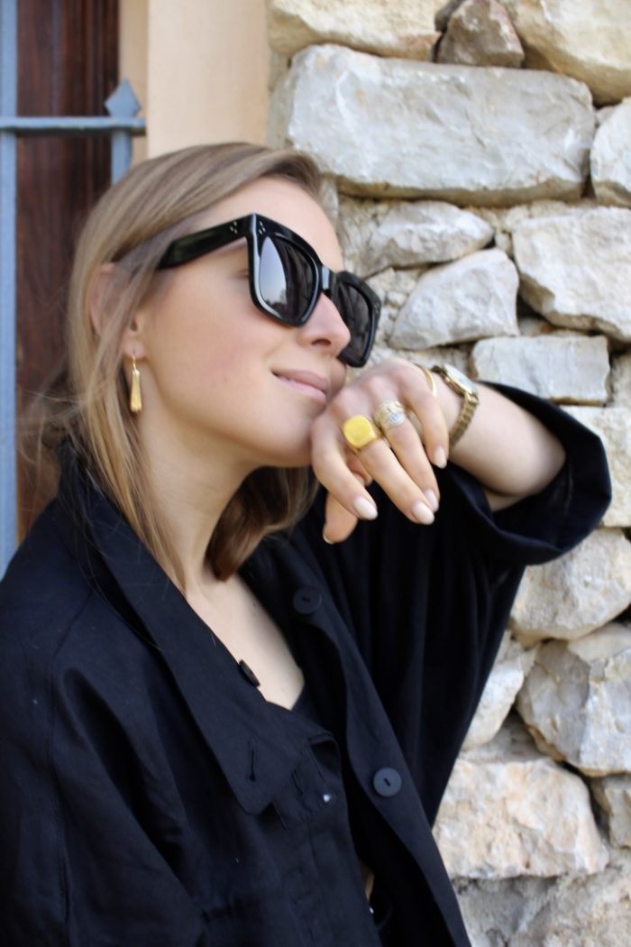 Céline Sunglasses black
