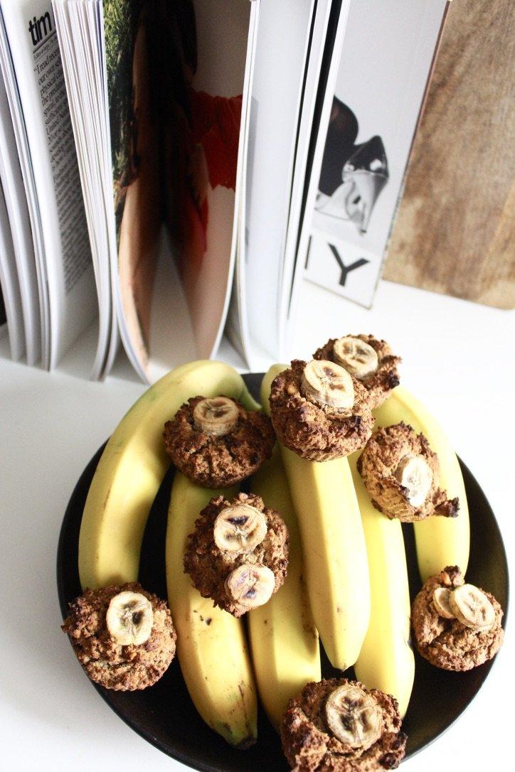 Healthy Banana Cupcakes | 22.09.2019