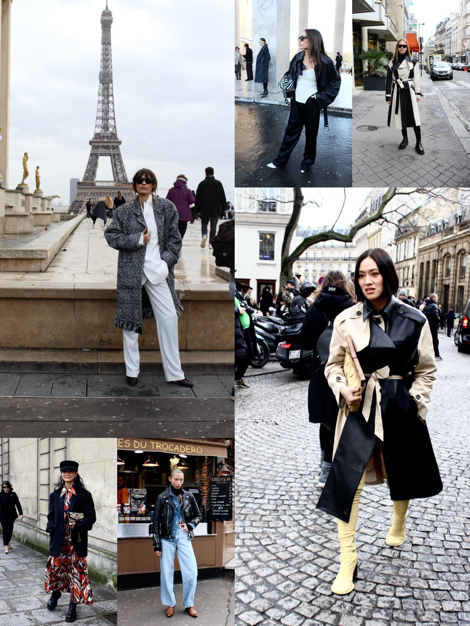 Street Style Paris Fashion Week FW20, Day 6 | 09.03.2020