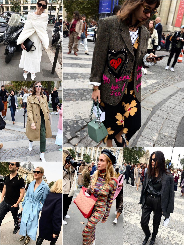 Street Style Paris Fashion Week SS19, Day 8 |08.10.2018