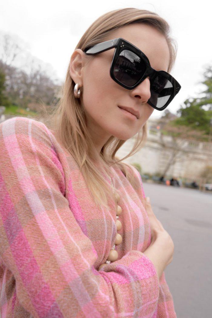 sunglasses black céline