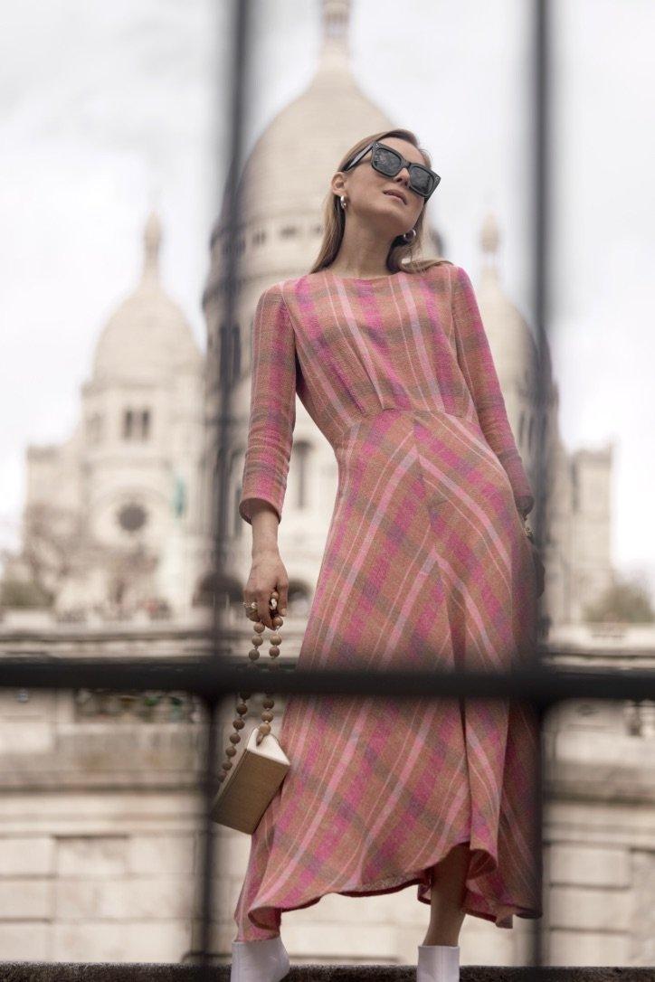 The Plaid Midi-Dress |02.04.2019