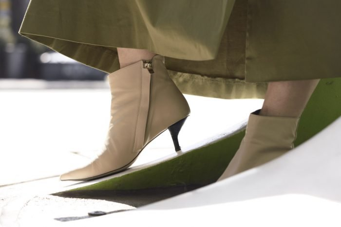 beige leather heels other stories