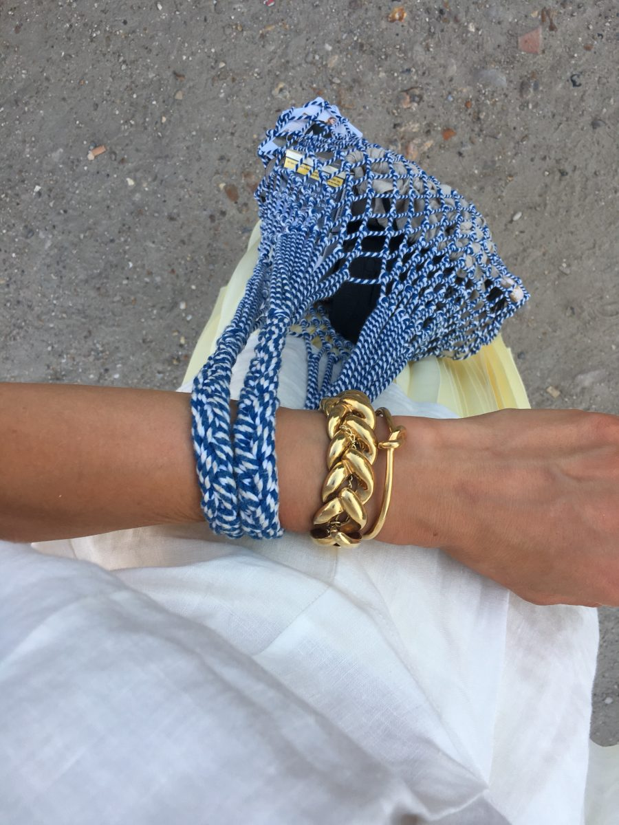 Céline summer bag blue