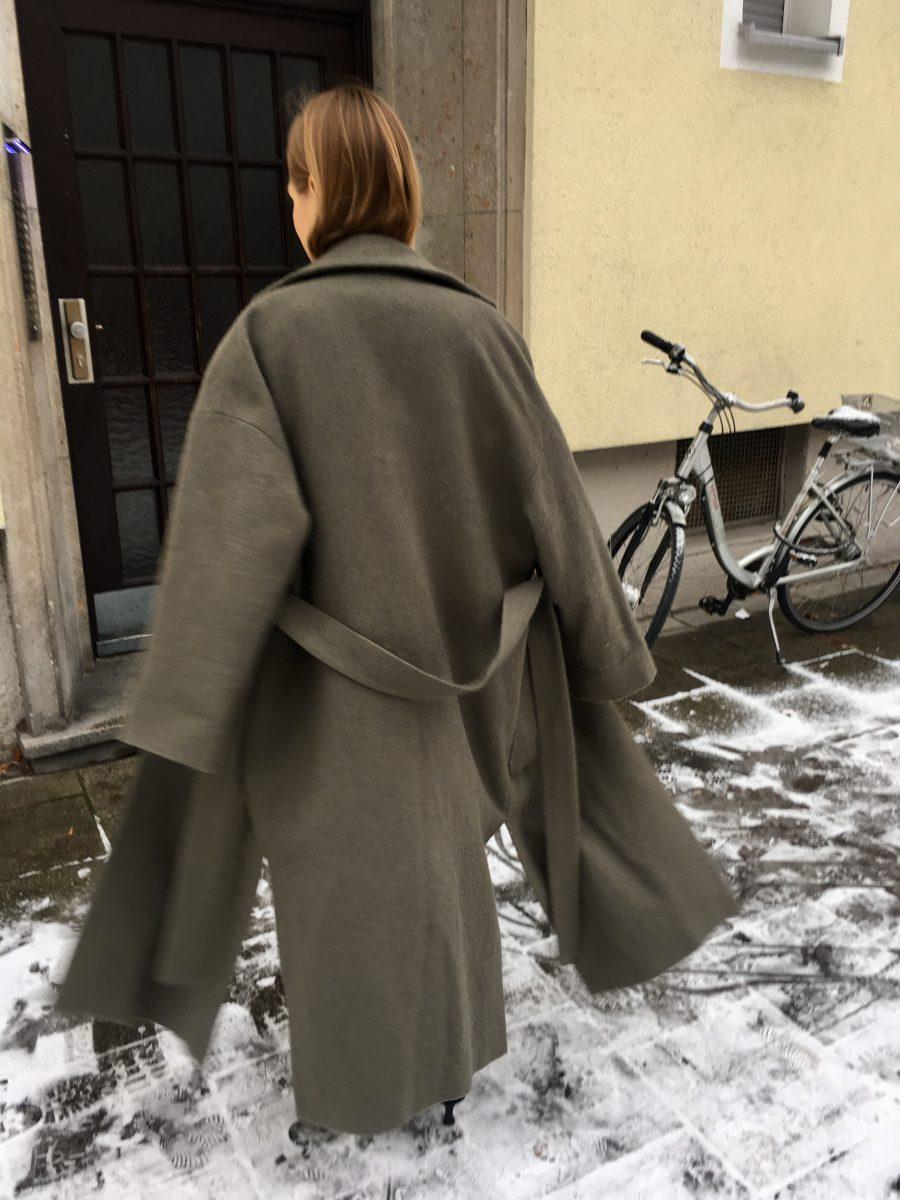 oversized coat zara new collection