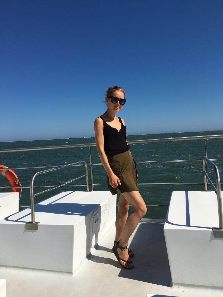 Skirt H&M trend skirt khaki