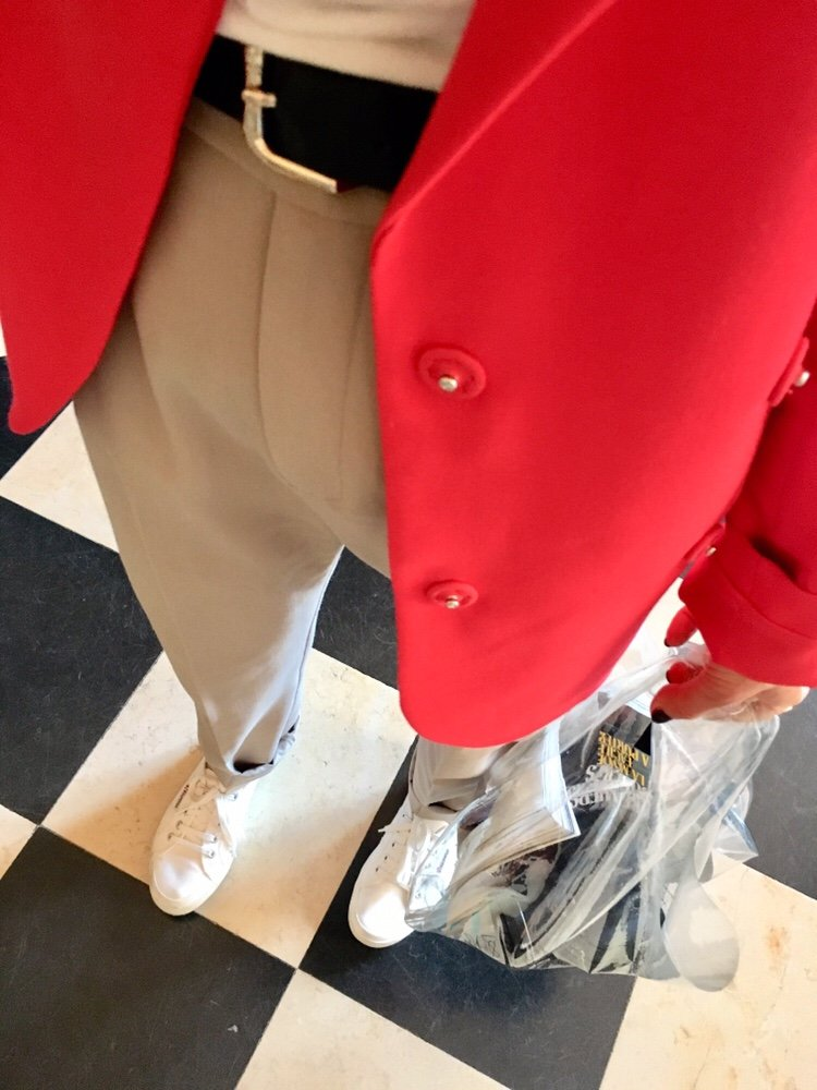red blazer other stories
