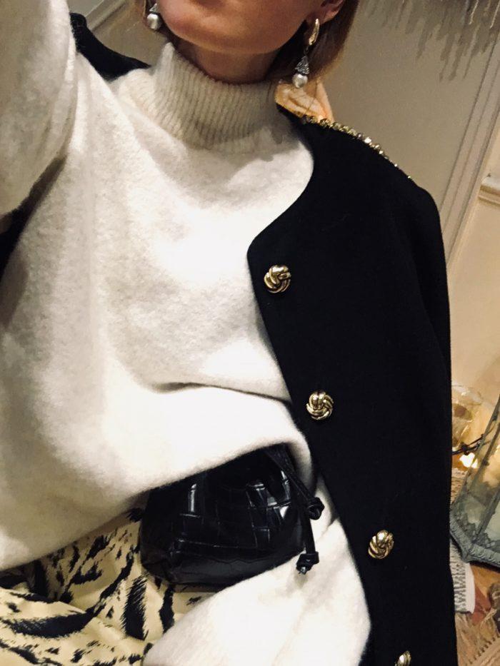 black jacket vintage