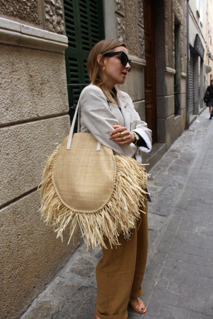 Linen pants H&M Trend