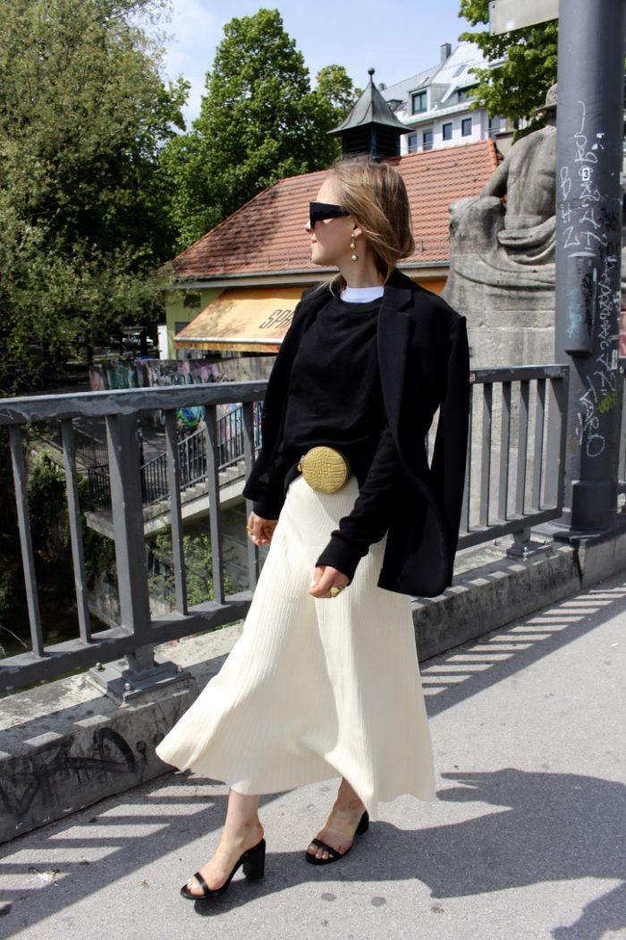 Blazer black H&M Trend