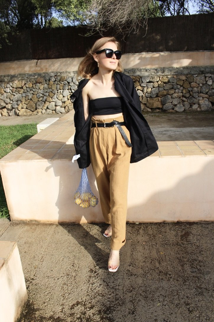 The Caramel Linen Trousers | 07.05.2019