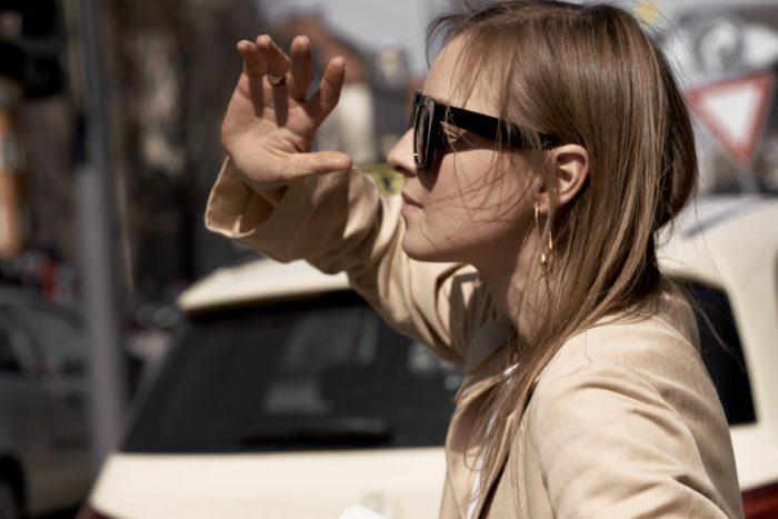 céline tilda black sunglasses