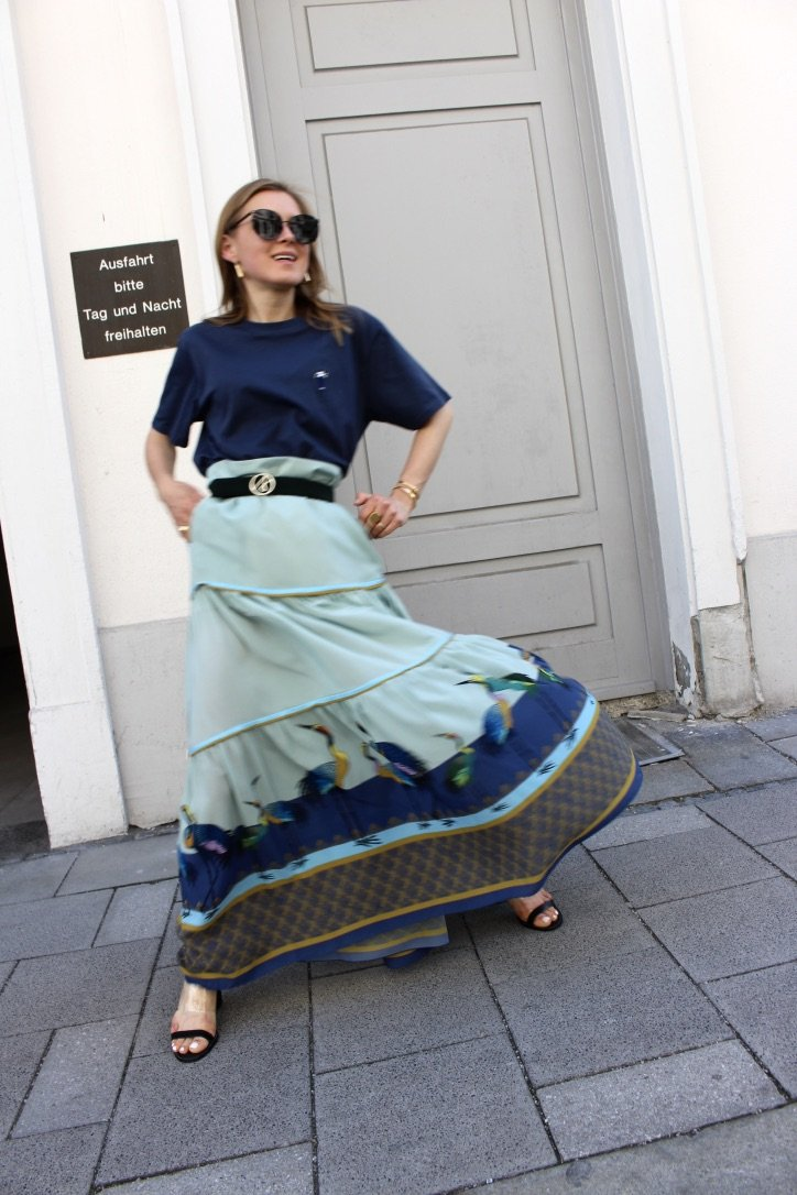 The Antonia Zander Silk Skirt | 26.05.2019